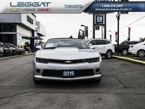 2015 Chevrolet Camaro CONVERTIBLE| V6-323 HP | RS PACKAGE | LEAT