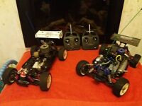 Remote control cars for sale or swap for ps4