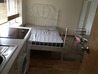 STUDIO FLAT AT FIRST FLOOR SEPARATE ENTRANCE OPEN PLAN KITCHEN AT PARRIVEL INCLUDING ALL BILLS
