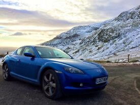 Mazda RX8 - Engine rebuilt, bargain price as need a quick sale