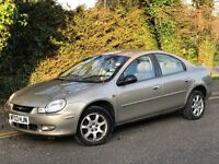 2003 CHRYSLER NEON LX, 2.0 ENGINE, AUTOMATIC, 5 DOORS, GREAT SERVICE HISTORY.