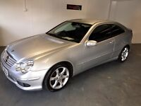 Mercedes C 220 Sport Edition, FSH, Leather upholstery, drive away today