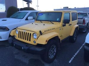2015 Jeep Wrangler Rubicon 4X4 heated seats, Nav, Bluetooth, rem