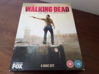 THE WALKING DEAD THE COMPLETE THIRD SEASON 5 DISC BOX SET