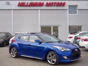 2014 Hyundai Veloster TURBO / NAVI / B.CAM / LEATHER / SUNROOF