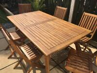 B&Q 6 Seater Outdoor Furniture Set