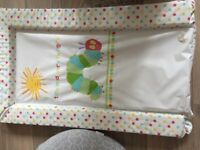 Feeding pillow and changing mat