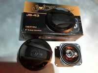 Brand New Juice Orange JS43 140watt Car Speakers