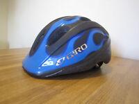 Giro Helmet (blue/black) for scooter or bike, 3+years, 50-55cm