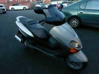 Yamaha majesty 125, 2002, low mileage, MOT