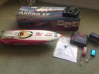 ARPRO Brushless RC radio controlled Power Boat