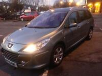 PEUGEOT 307sw 1.6 HDI 55 PLATE ESTATE YEARS MOT MINT CONDITION £995