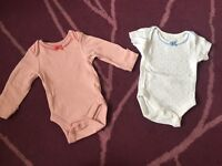 Baby girl, first size baby clothes