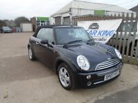 MINI CONVERTIBLE 1.6 One 2dr (black) 2007
