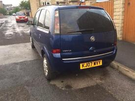 Vauxhall meriva 1.6i 16v