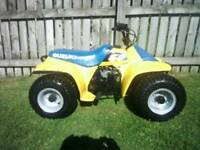 Suzuki lt50 lt 50 kids quad great condition like husky pw50 buzz