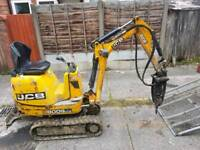 low cost micro and mini digger hire