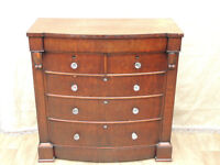 Antique Large Chest of Drawers Chunky with plenty of space (Delivery)