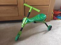 Scuttle big indoor or outdoor ride on toy