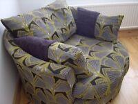 Green Cuddle Chair
