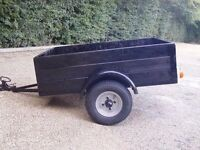 4x3 TRAILER, CAMPING, TIP, CAR, BOX