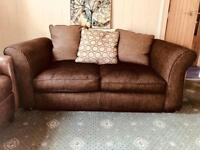 DFS Brown Sofa