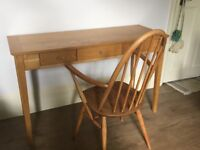 3 drawer wooden console table/desk