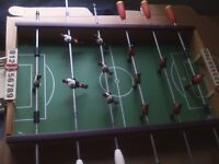 1970S ITALIAN MADE SMALL TABLE TOP SOCCER GAME ABSOLUTE BARGAIN £15