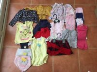 Baby Girl 6-9 Months Clothing Bundle