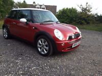 2005y. MINI Hatch 1.6 One Seven 3dr