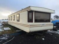 3 bedroom caravan with double glazing Windows