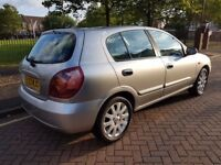 STUNNING Nissan Almera 1.5 SE 5 door FULL service history 12 months MOT an EXCEPTIONALLY TIDY CAR