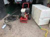 Jet wash Petrol powered Honda engine with accessories