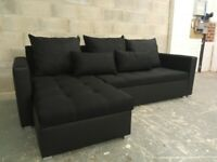 🔴FREE delivery & assembly 🔴Brand New Corner Sofa bed with DOUBLE storage🔴'