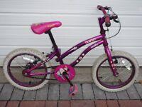 "£10 Girls bike, Apollo brand ""Popstar"""