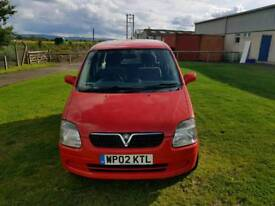 Vauxhall agila. Long mot. Low mileage. In good condition inside and out.