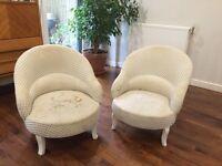 Squat arm chair