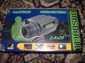 bushnell hand held night vision as new boxed