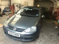 FOR BREAKING CHEAP PARTS 2004 Volkswagen Golf Mk5 1.6 Petrol