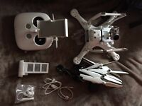 DJI Phantom 3 [Advanced] Camera Drone [Mint Condition] [Plus Backpack + Cables]
