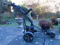 electric golf trolley /powakaddy