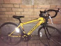 Kids Road Bike. Originally £330. Great Condition Used 3 Times. Viking - Yellow - 20 inch Wheel