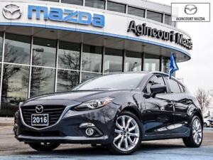 2016 Mazda Mazda3 Sport GT | Navi | Bose | Leather | Heated Sts