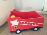 Next fire engine toy box