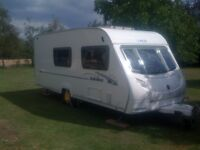 Ace jubilee globetrotter, 2007,4 berth,motor mover,awning,fantastic condition,ready to use and enjoy