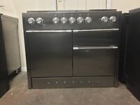 Mercury dual fuel gas range cooker RC1090 110cm S/S double oven3 months warranty free local delivery