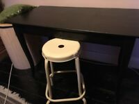 Ikea desk and stool