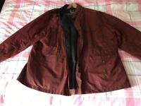 Barbour jacket xxl never worn