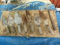 Brick layging trowels