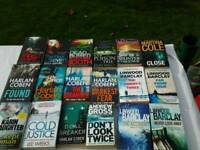Selection of paperback books